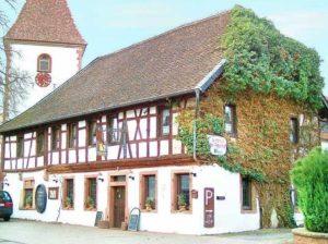 """Ausflugsgaststätte, Restaurant """"Im Fronhof"""" in Queichhambach - Annweiler"""