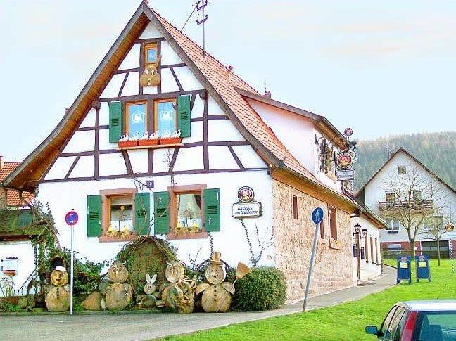 """Gaststätte """"Zum Häädstorze"""" in Birkenhördt in der Pfalz"""