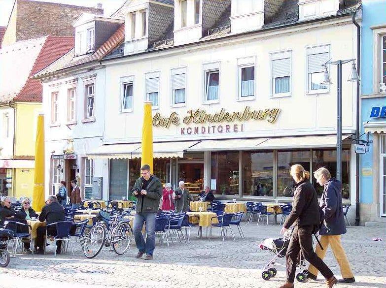 """Café, Konditorei """"Hindenburg"""" in Speyer - Pfalz"""