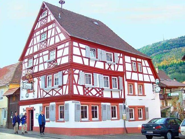 """Gasthaus, Griechisch-Deutsches Restaurant """"Storchentor"""" in Annweiler - Pfalz"""