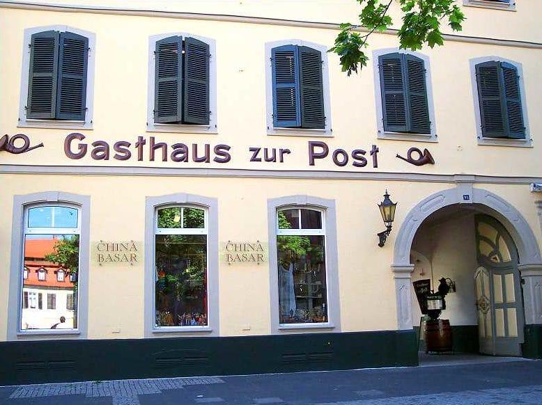 """Gasthaus """"Zur Post"""" in Neustadt in der Pfalz"""