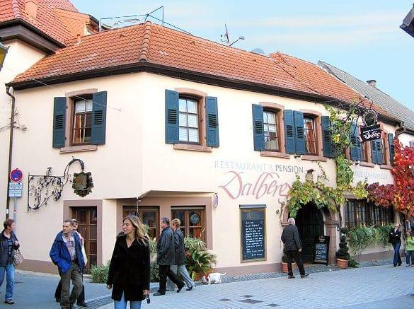 """Restaurant, Hotel """"Dalberg"""" in Sankt Martin in der Pfalz"""