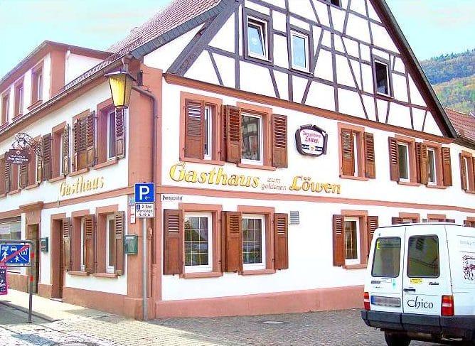 """Gasthaus """"Zum goldenen Löwen"""" in Annweiler in der Pfalz"""