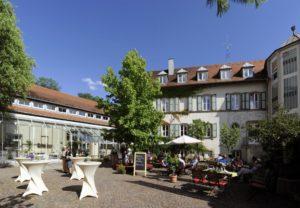 Stiftsgut Keysermühle mit Slowfood-Restaurant Freiraum ind Klingenmünster