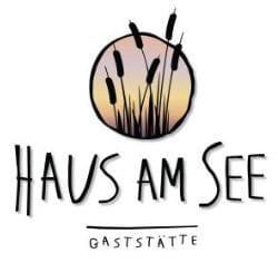 """Gaststätte, Terrasse mit Seeblick """"Haus am See"""" in Lingenfeld in der Pfalz"""