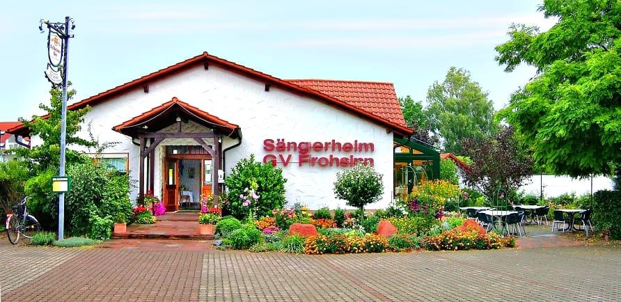 """Restaurant im Sängerheim GV Frohsinn Zeiskam """"Zur Zwewwl"""" in Zeiskam in der Pfalz"""