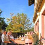 """Die Terrasse """"Naturfreundehaus Bethof"""""""