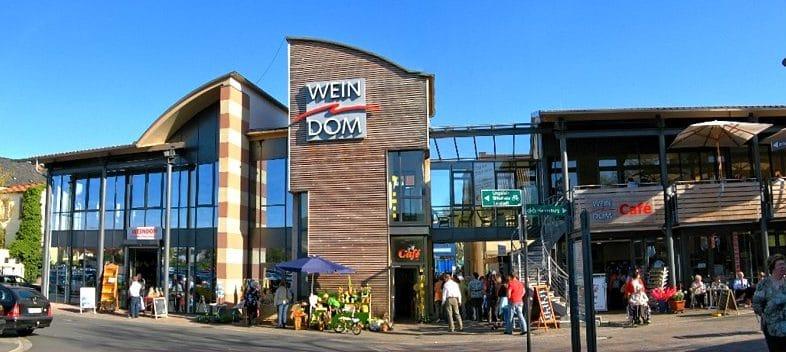 """Café, Weinverkauf """"Weindom"""" in Bad Dürkheim in der Pfalz"""