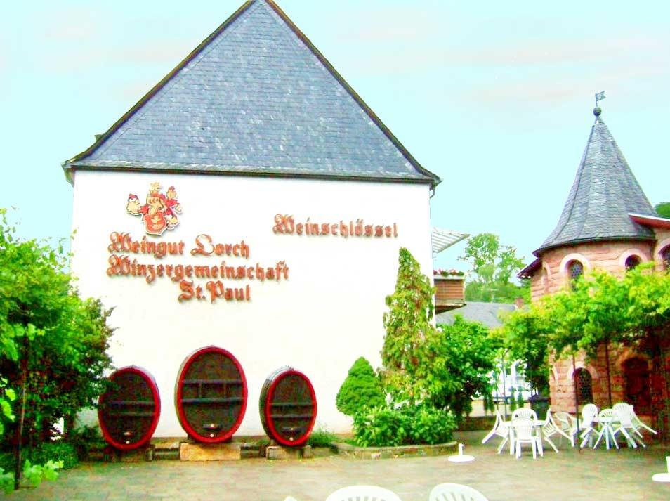 """Weinstube, Restaurant """"Weinschlössel"""" in Bad Bergzabern in der Pfalz"""