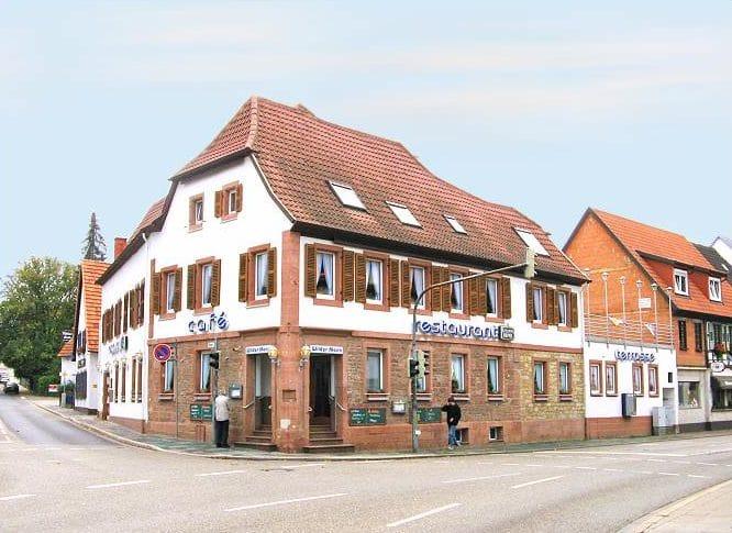 """Restaurant, Café """"Wilder Mann"""" in Bad Bergzabern in der Pfalz"""