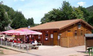 """Waldgaststätte """"Wildpark - Gaststätte"""" in Silz in der Pfalz"""