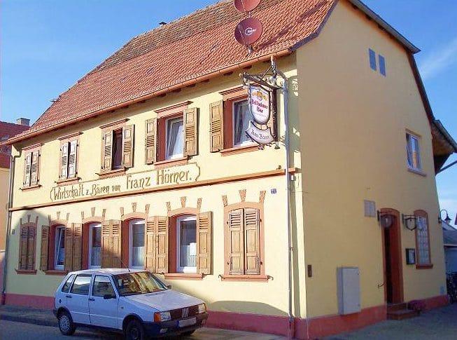 """Gaststätte """"Zum Bären"""" in Bellheim in der Pfalz"""