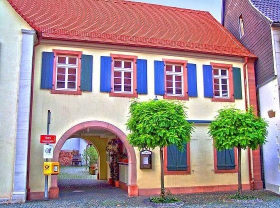 """Eiscafé """"Galleria"""" in Klingenmünster in der Pfalz"""
