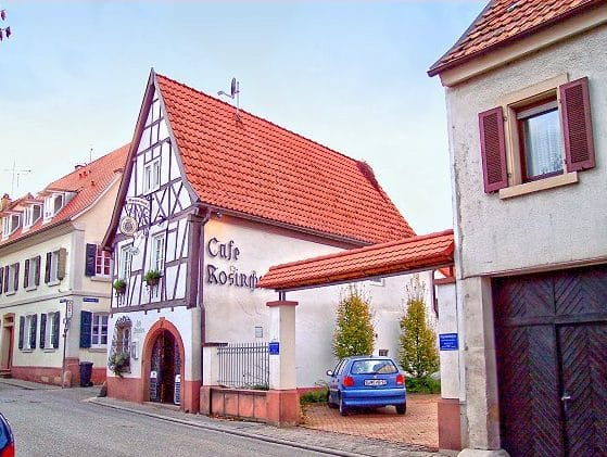 "Café ""Rosinchen"" in Klingenmünster in der Pfalz"