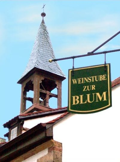"""Weinstube """"Zur Blum"""" in Landau in der Pfalz"""