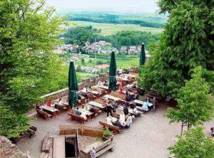 Aussicht von der Burg Landeck