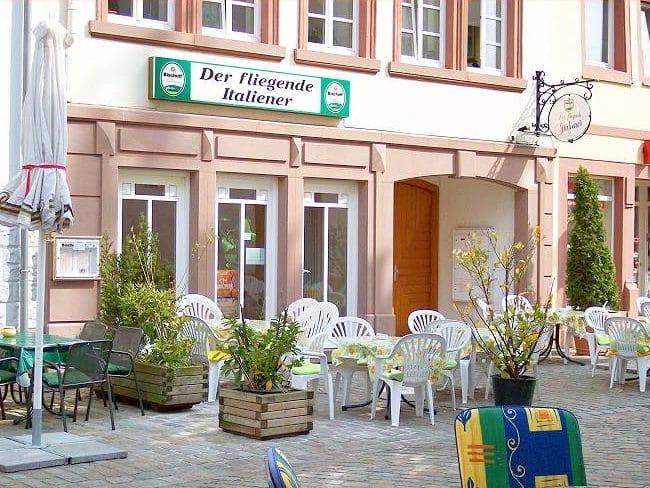 """Italienisches Restaurant, Pizzeria, Partyservice """"Der fliegende Italiener - Da Giuseppe"""" in Landau in der Pfalz"""