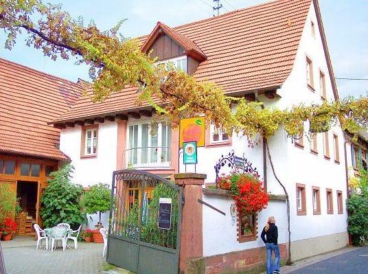 """Weinstube, Weingut, Sektgut, Ferienwohnungen """"Zum Kirchhölzel"""" in Leinsweiler in der Pfalz"""