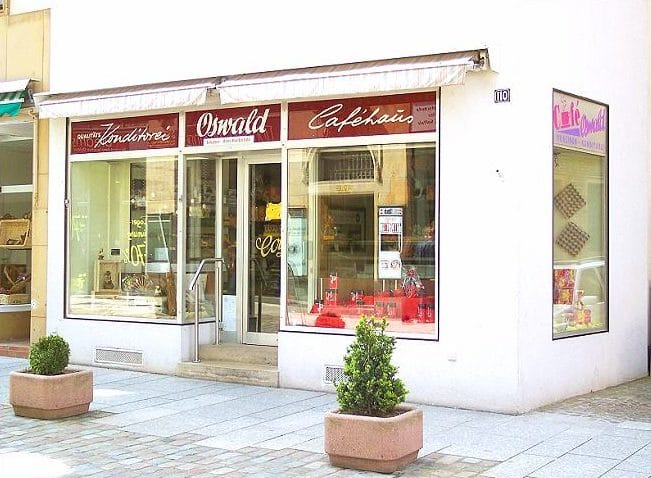 "Kaffeehaus, Konditorei ""Oswald"" in Landau in der Pfalz"