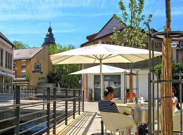 "Eiscafé, Bar ""Riva"" in Landau in der Pfalz"