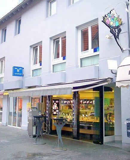 """Eiscafé """"Palazzo Sandro"""" in Landau in der Pfalz"""