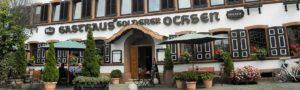 "Hotel Restaurant ""Zum Goldenen Ochsen"" in Maikammer"