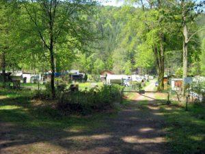 Naturcampingplatz Am Berwartstein in Erlenbach bei Dahn in der Pfalz