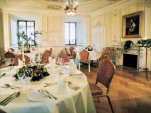 Gepflegte Eleganz: Gourmetrestaurant Schloss Edesheim