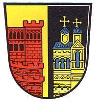 """Wappen der Gemeinde """"Annweiler"""" in der Pfalz"""
