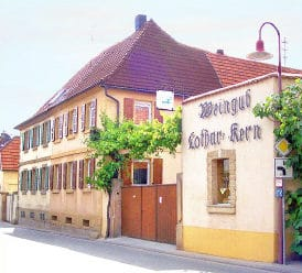 "Weinstube, Weingut ""Lothar Kern"" in Böchingen in der Pfalz"