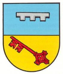 """Wappen der Gemeinde """"Bundenthal"""" in der Pfalz."""