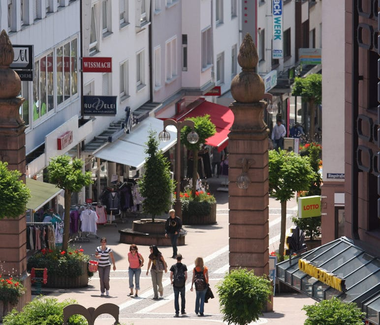Pirmasens Einkaufsstraße