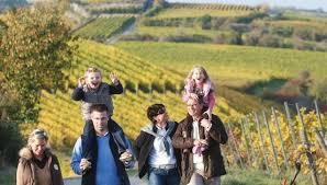 Familientour durch die Weinberge