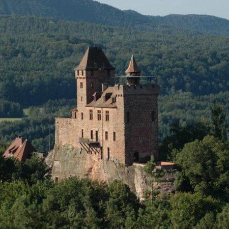 """""""Burg Berwartstein"""" bei Erlenbach bei Dahn"""