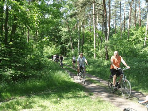 Herrliche Radwege durch eine abwechslungsreiche Natur in der Südpfalz