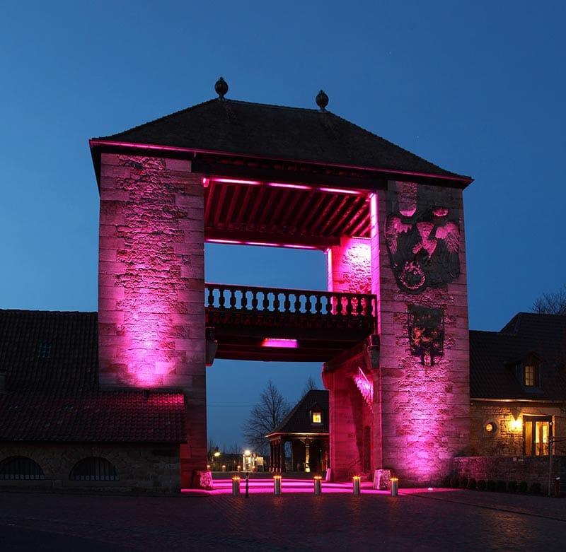 Deutsches Weintor in Schweigen-Rechtenbach - Foto Rolf Goosmann