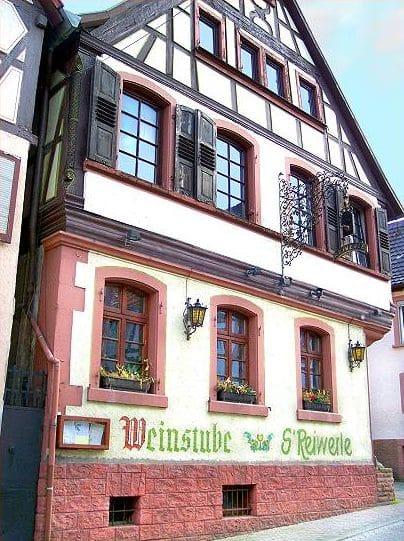 """Weinstube, Restaurant, Ferienwohnungen """"S'Reiwerle"""" in Annweiler in der Pfalz"""
