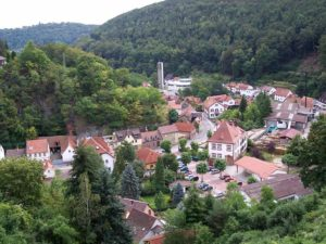 Bad Dürkheim - Hardenburg in der Pfalz