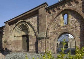 Erkenbert-Ruine in Frankenthal