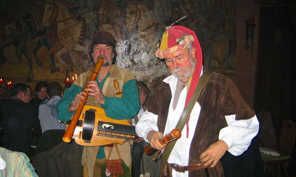 Rittermahl auf Burg Berwartstein