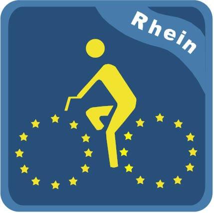 Rheinradweg / Veloroute Rhein