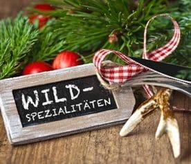 Restaurants mit Wildspezialitaeten aus der Region