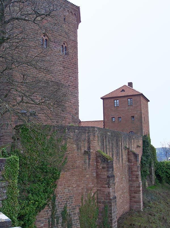 Reichsburg Trifels - Annweiler in der Pfalz