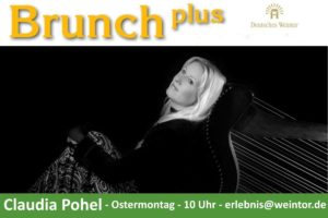 Claudia Pohel im Deutschen Weintor
