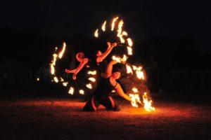 Feuershow - Keltisches Fest auf dem Donnersberg