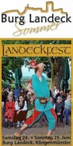 Landeckfest auf Burg Landeck