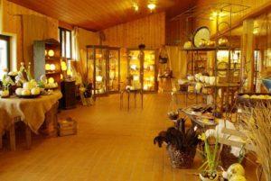 Der Farmladen in der Straußenfarm MHOU