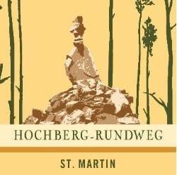 Hochberg-Rundweg, Sankt Martin in der Pfalz