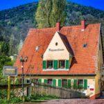 """Restaurant, Biergarten """"Wappenschmiede"""" in Sankt Martin in der Pfalz"""