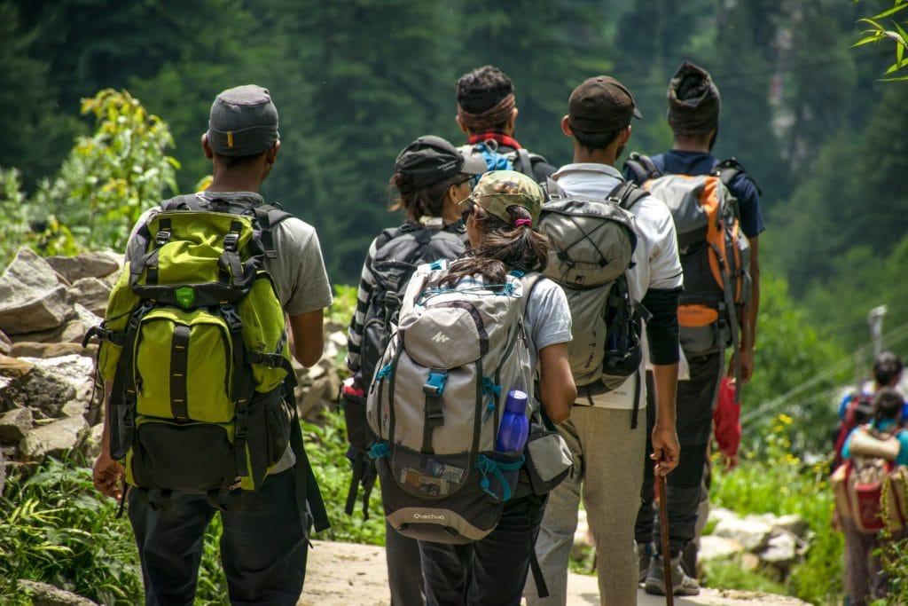 """Wandern auf der """"Trekkingplatz-Route"""""""